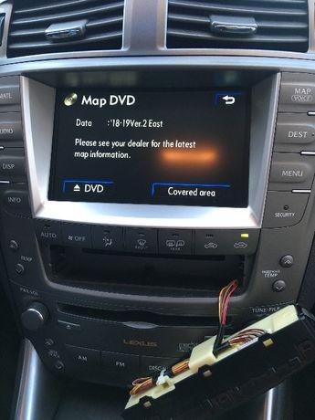 Навигационен Диск Toyota Lexus Навигация Ъпдейт Тойота Лексус Update