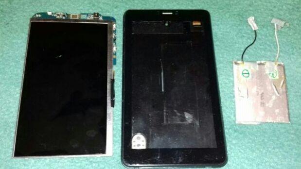 "Display 7"" inchi SL007DC18B05-Eboda IzycommZ700,carcasa,baterie"