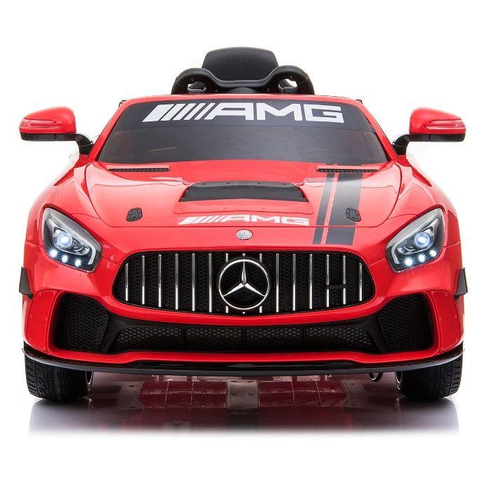 Masinuta electrica Kinderauto Mercedes GT-R 2x25W STANDARD #Rosu Galati - imagine 1