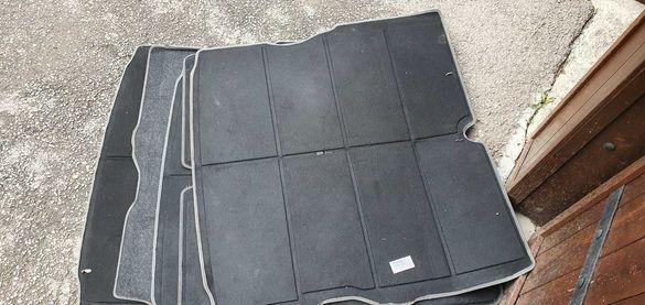 Постелки за багажник от зафира