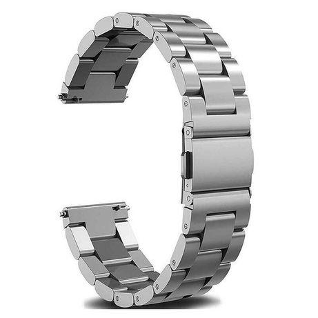 Bratara ceas metalica argintie 22mm