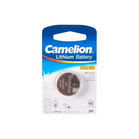 Батарейка CAMELION Lithium Battery CR 2450 BP1