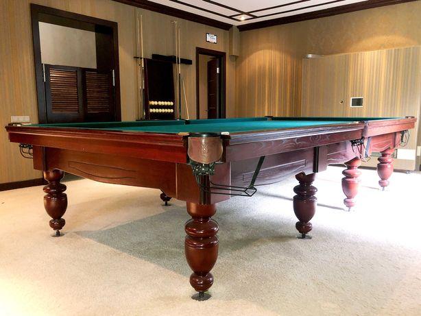 Бильярдный стол 12 фут в идеальном состоянии, в полной комплектации
