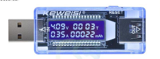 USB тестер ёмкости аккумулятора.