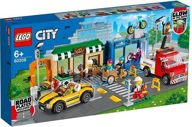 LEGO City Strada magazine 60306/Diamante 60209/ Baza politie 60210 NOU