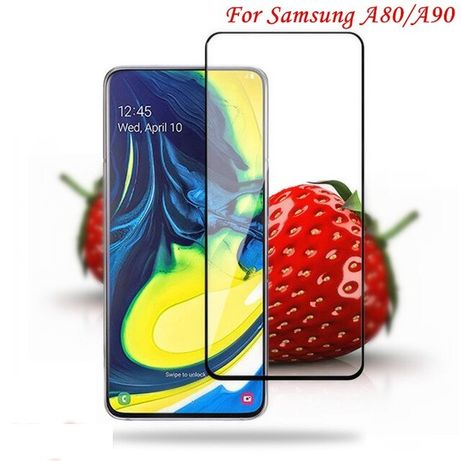 Folie sticla seurizata / 9D FULL GLUE Samsung Galaxy A80 / A90