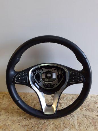 Volan Piele Cu Comenzi Mercedes Gla  X156 W176 W246 W205 W213 W238