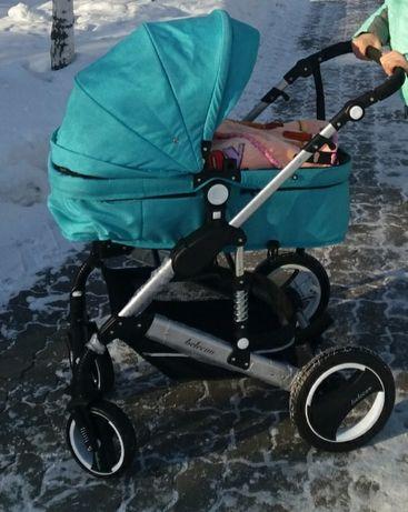 Детская коляска трансформер лето -зима Вelecoo