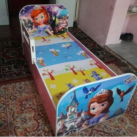 Кровать машинки детские