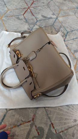 Стильная сумка Э'рмес, из натуральной телячий кожи, 30см,  люкс качест