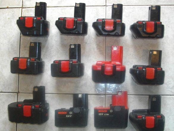 Бош-Лоша Батерия-9,6В-12В-14,4В-18 Волта-Bosch-Кутия-За Смяна Елементи