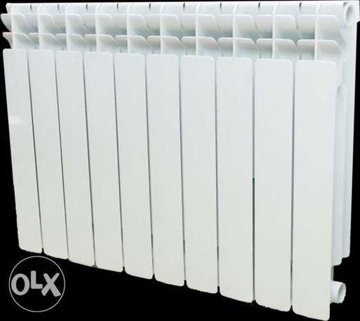 Радиатор алюминиевый / биметаллический, краны, комплектующие