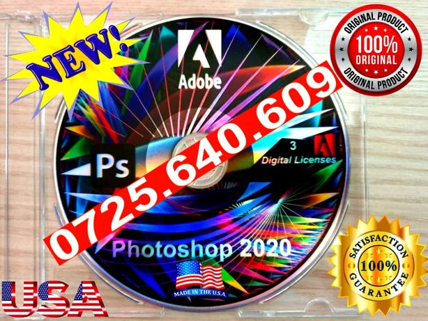 Adobe Photoshop 2020 -SIGILAT-3 Lice. Perma-VEZI TOATE ANUNTURILE MELE