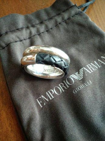 Уникална Сребърна халка Emporio Armani