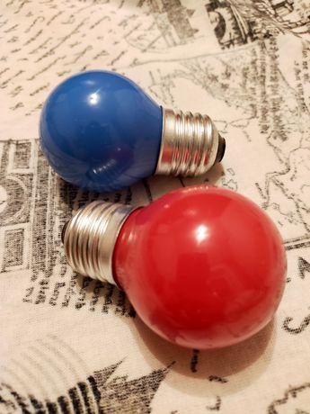 Лампочки цветные продам