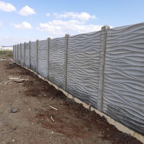 Gard din beton prefabricat