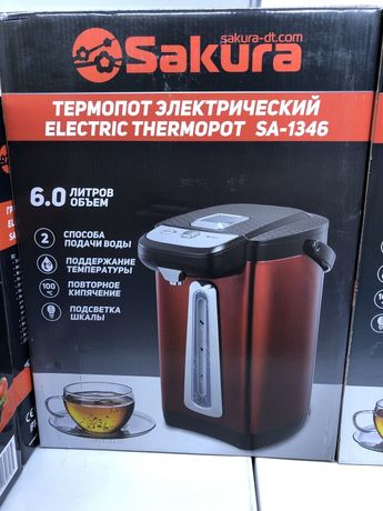 Электрический термопот 6.0 л SA-1346BS