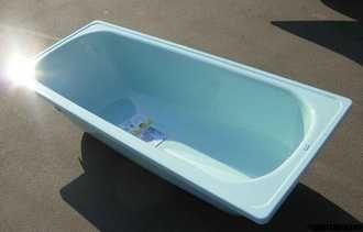 Доставка. DONNA ванна голубая сталь 150 на 75 см,НОВАЯ