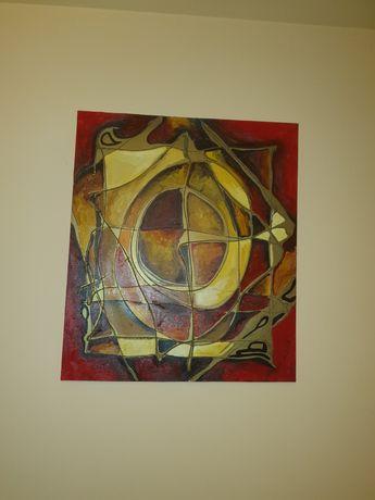 Tablou pictura abstracta