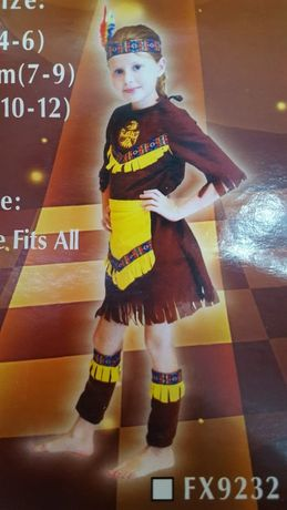 VAND costum INDIANCA printesa COPII regina craiasa zana APAS