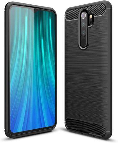 Луксозен калъф / кейс / гръб карбон Carbon за Xiaomi Redmi Note 8 Pro