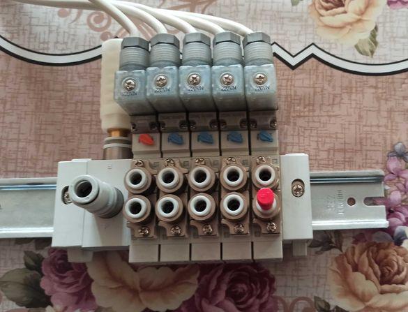 SMC електромагнитни клапани Type-SY5160-4YOE-C6-Q.Power 0.4W/220VAC