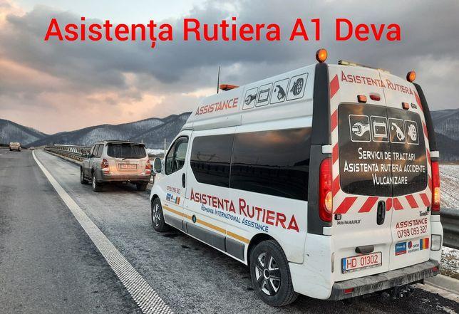 Vulcanizare mobila Service mobil A1 Autostrada Deva Non Stop