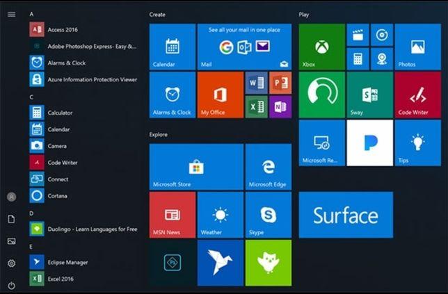Установка Windows 10 + Microsoft office за 4000 тенге