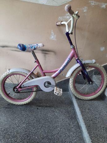 """Детско колело с помощни 16"""""""