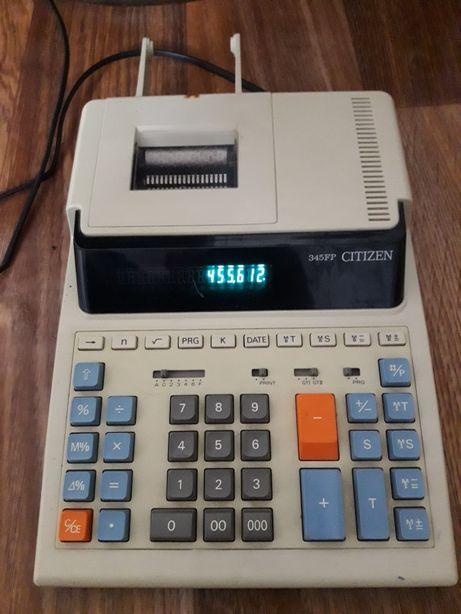 Калькулятор печатающий Citizen 345