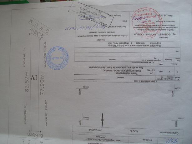 Vând Teren agricol 3.078mp și Teren vie 600mp în extravilan Drăgășani