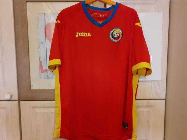 Echipament fotbal ROMANIA deplasare + pantaloni