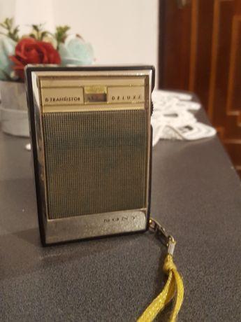 Radio vintage 1960 sony deluxe 6 transistor funcțional am