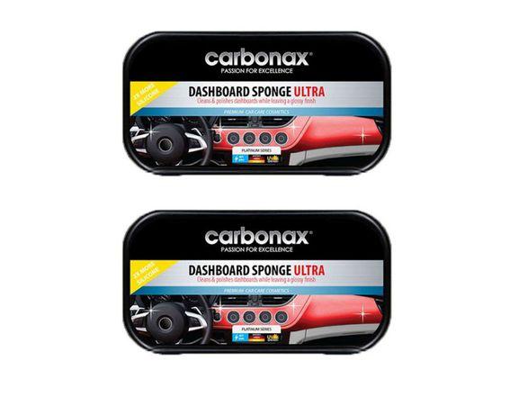 Комплект 2 броя Гъби за Автотабла Carbonax Ultra Почиства и Полира