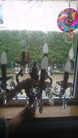 Candelabru din cristale veritabile
