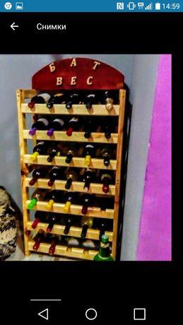 Стелажи за вино различни модели