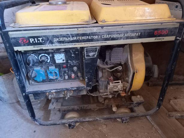 Дизельный генератор + сварочный аппарат