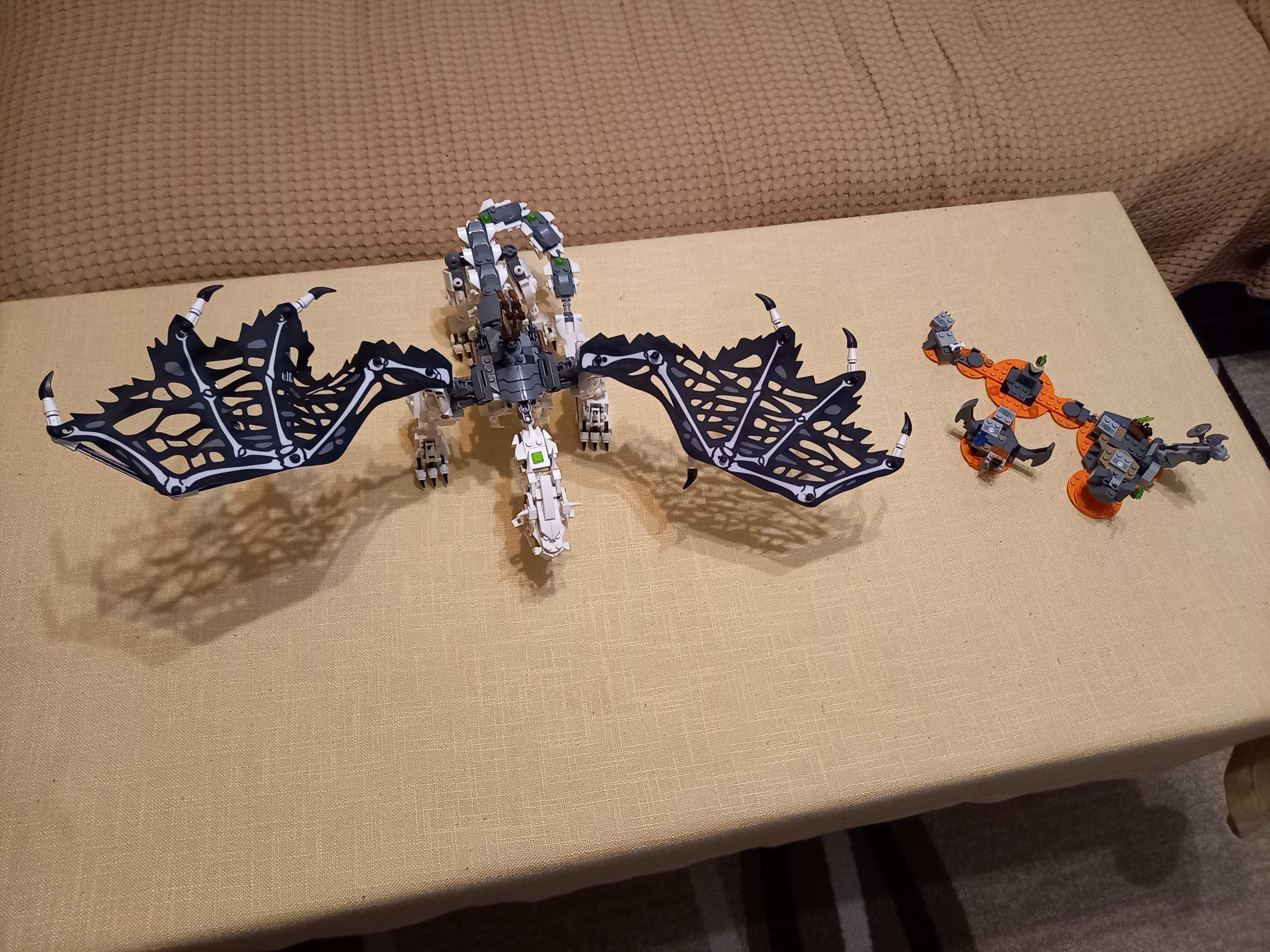 Lego Ninjago Драконът и магьосника на черепите 71721