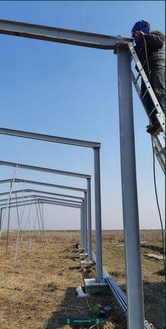 Confecționăm structuri metalice pentru hale