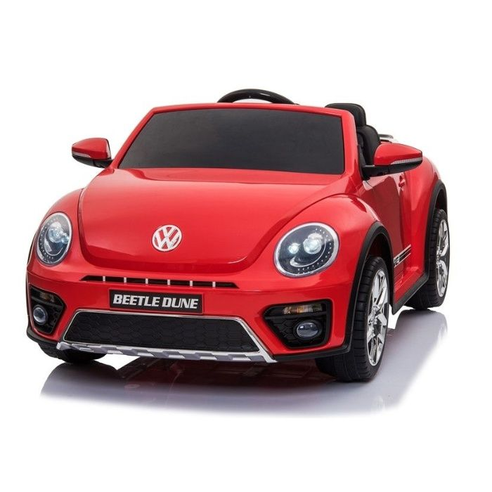 Masinuta electrica Kinderauto VW Beetle Dune Cabrio STANDARD #Rosu Piatra Neamt - imagine 1