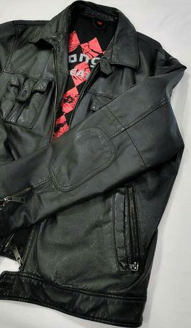 Geaca piele naturala Manguun leather