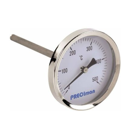 Термометър с дълга сонда 30 сантиметра за зидана пещ и други