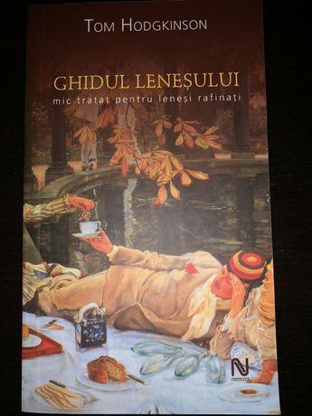"""Cartea """"Ghidul leneseului"""" de Tom Hodgkinson"""