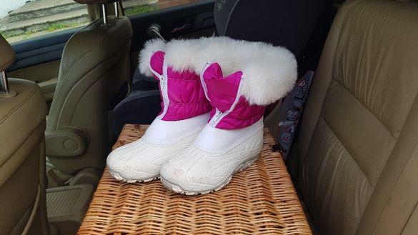 Зимни ботушки за момиче