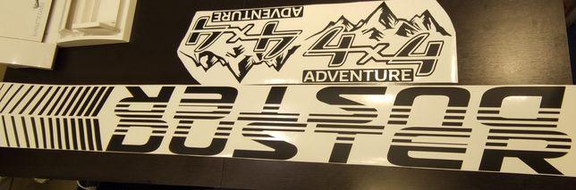 Set autocolant Adventure Duster 4x4