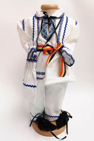 Costum popular, traditional pentru botez MIHAI
