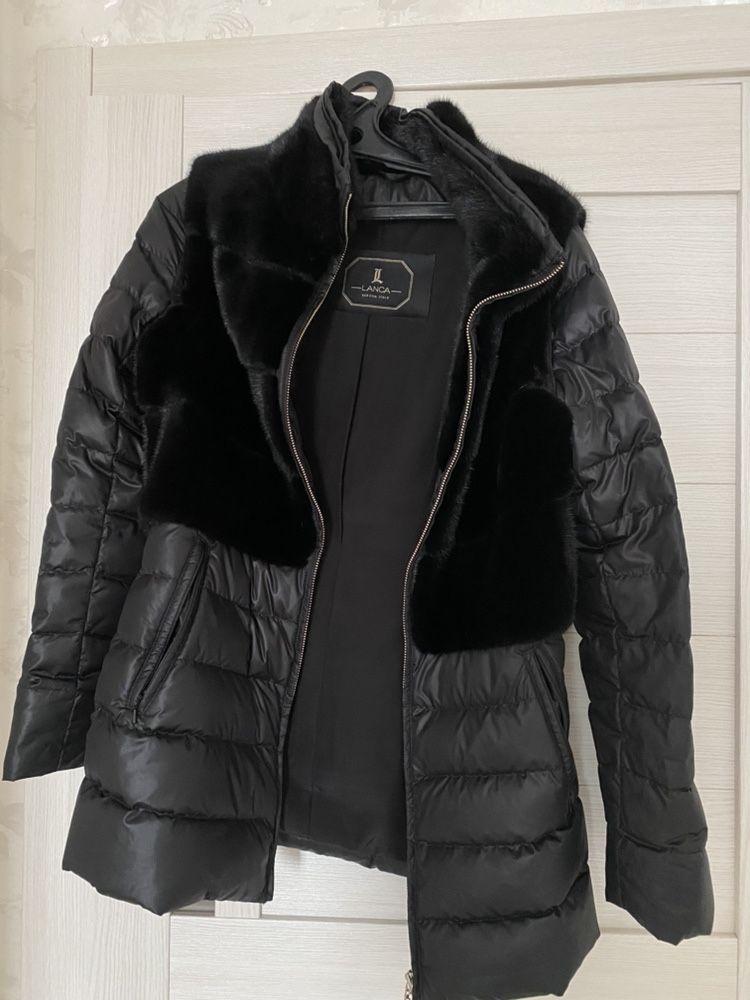 Куртка зимняя с норкой