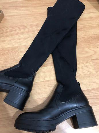 Vând cizme peste genunchi Zara