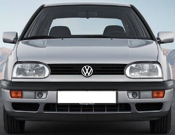 Стекло фары фонари VW Volkswagen Golf 3