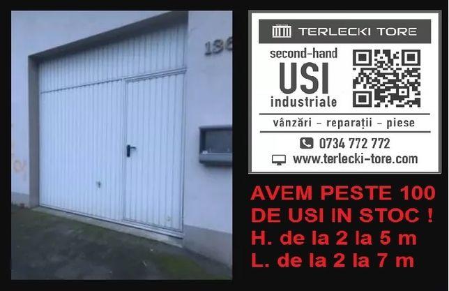 Usa poarta batanta industriala hala H 280 x L 300 pietonala Germania